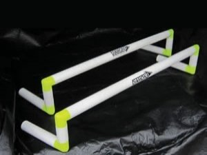 durable and long lasting 1 metre hurdles.