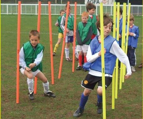 Bibs for school soccer coaching