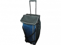 easy to carry wheeled bag for soccer kits