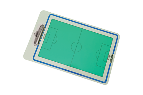 Coaches Clipboard for use in soccer training