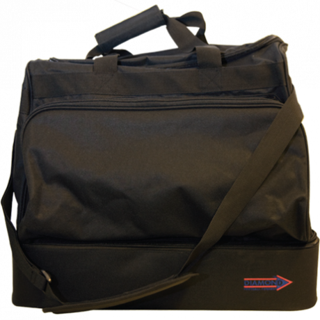 Diamond players bag with multiple compartments
