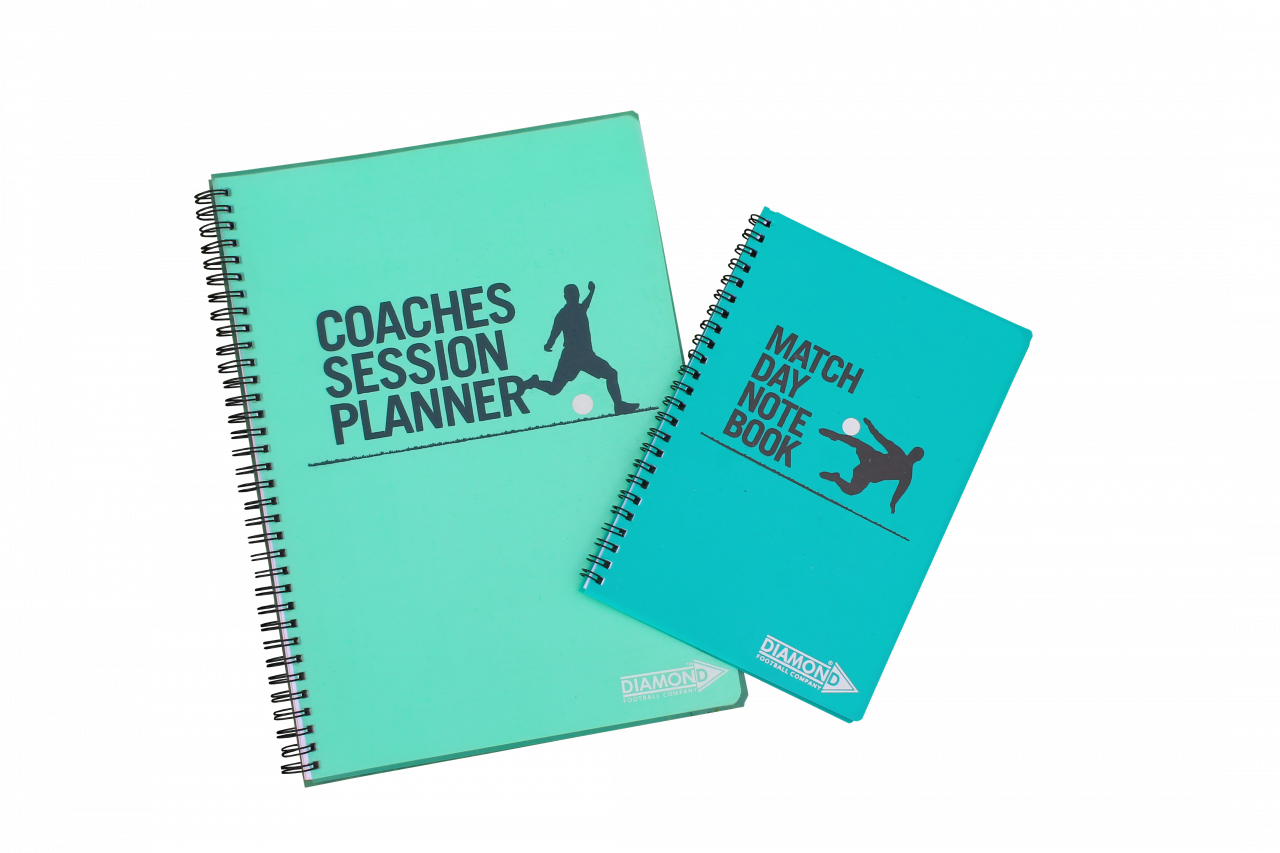 Coaches notebook for use on match days