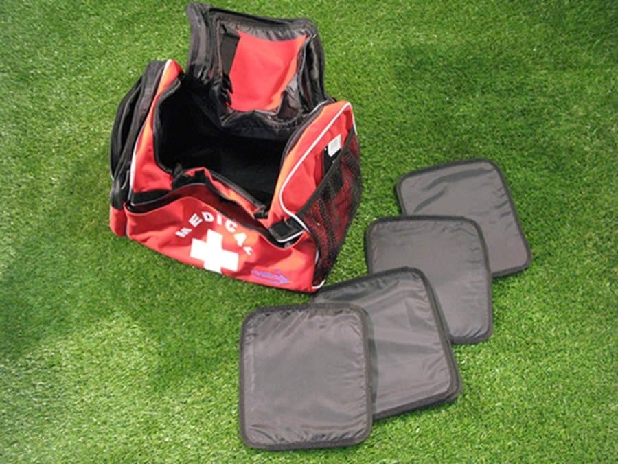 Diamond medical bag for coaches with a large capacity