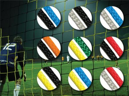 Diamond colour striped nets
