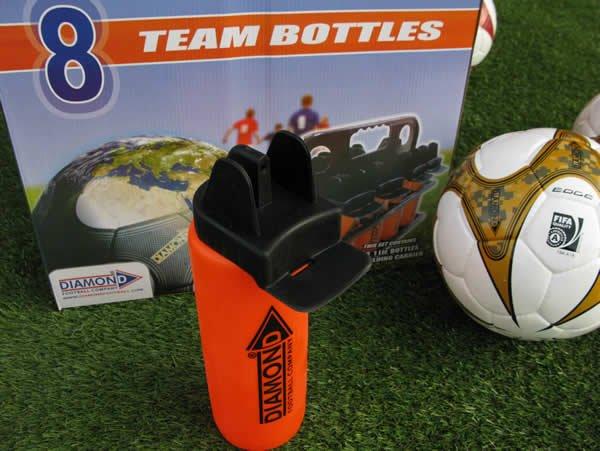Soccer team bottles