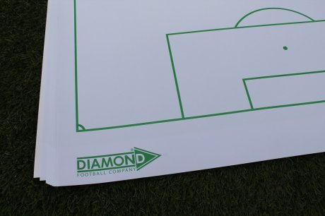 Pages in Soccer Tactics Flipchart from Diamon