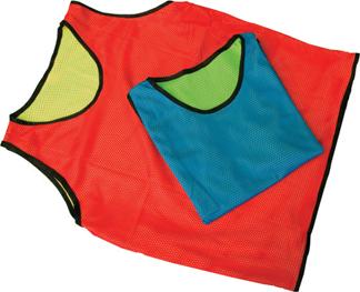 reversible mesh scrimmage vests